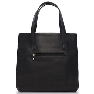 Torba damska shopper bag FELICE Verona Due czarna