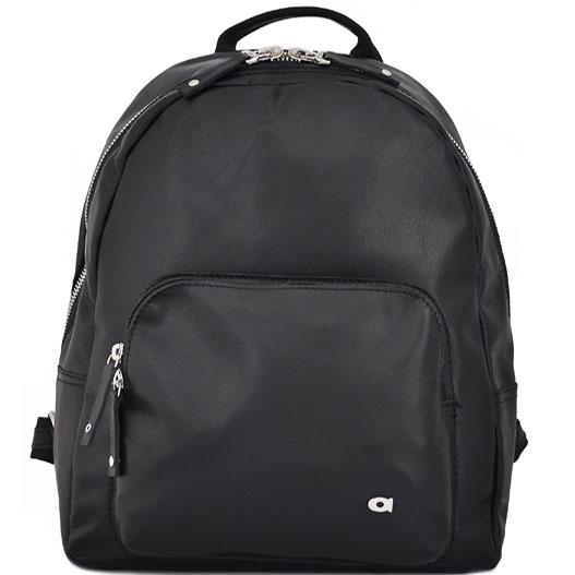 DAAG Human 39 czarny plecak skórzany unisex