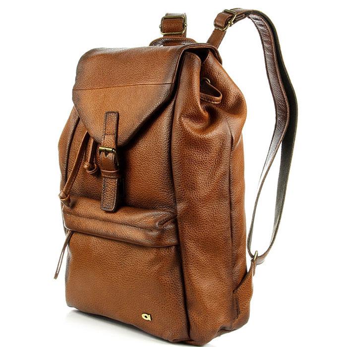DAAG Native 5 plecak skórzany koniak unisex
