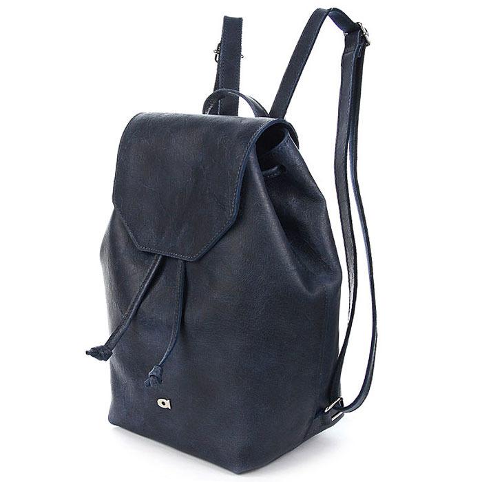 Granatowy plecak skórzany DAAG FUNKY GO! 26
