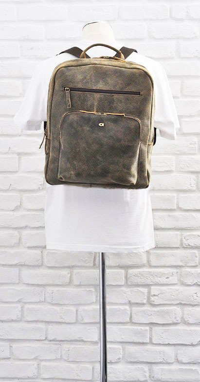 DAAG Jazzy Risk 152 brązowy plecak skórzany unisex