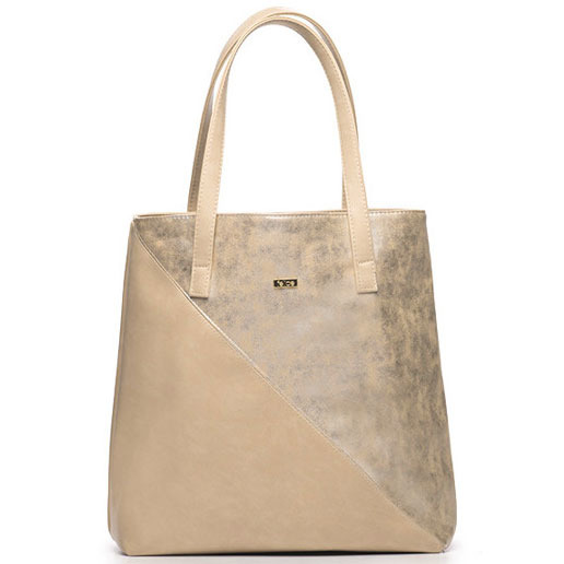 Torba damska shopper bag FELICE Verona tres złota
