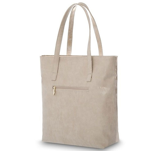Torba damska shopper bag FELICE D01 light gold