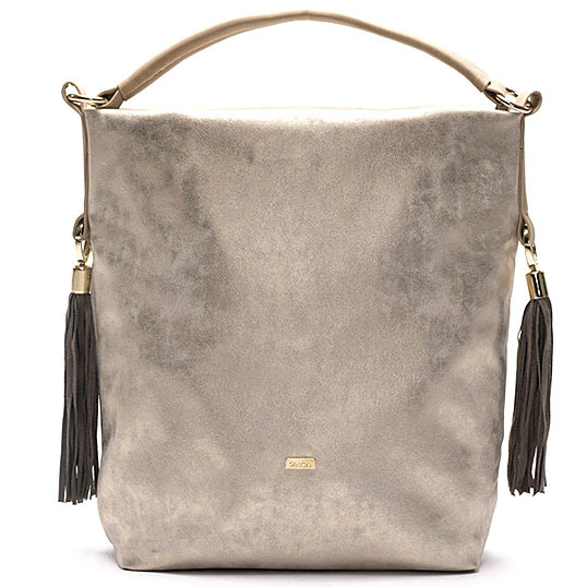 Torba damska shopper bag FELICE gold